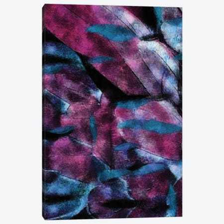 Abstraction In Violet And Blue Shade Canvas Print #IVG24} by Ievgeniia Bidiuk Canvas Print