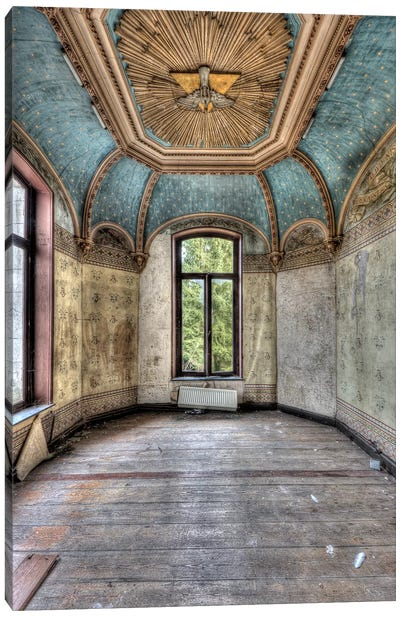 Chateau Rochendaal I Canvas Art Print