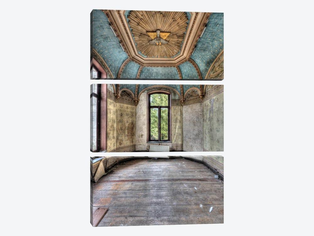 Chateau Rochendaal I by Ivo Sneeuw 3-piece Canvas Art