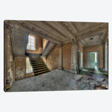 Chateau Rochendaal III Canvas Print #IVO14} by Ivo Sneeuw Canvas Art