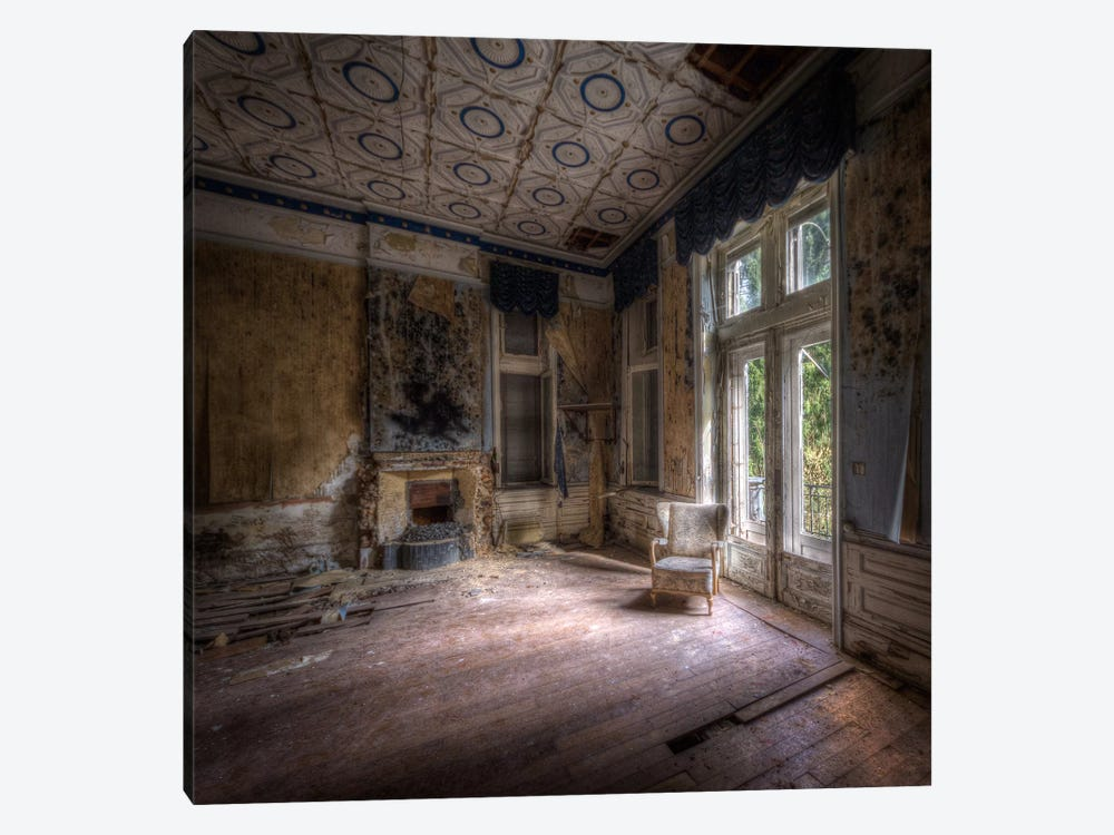 Hotel Rouge I by Ivo Sneeuw 1-piece Canvas Print