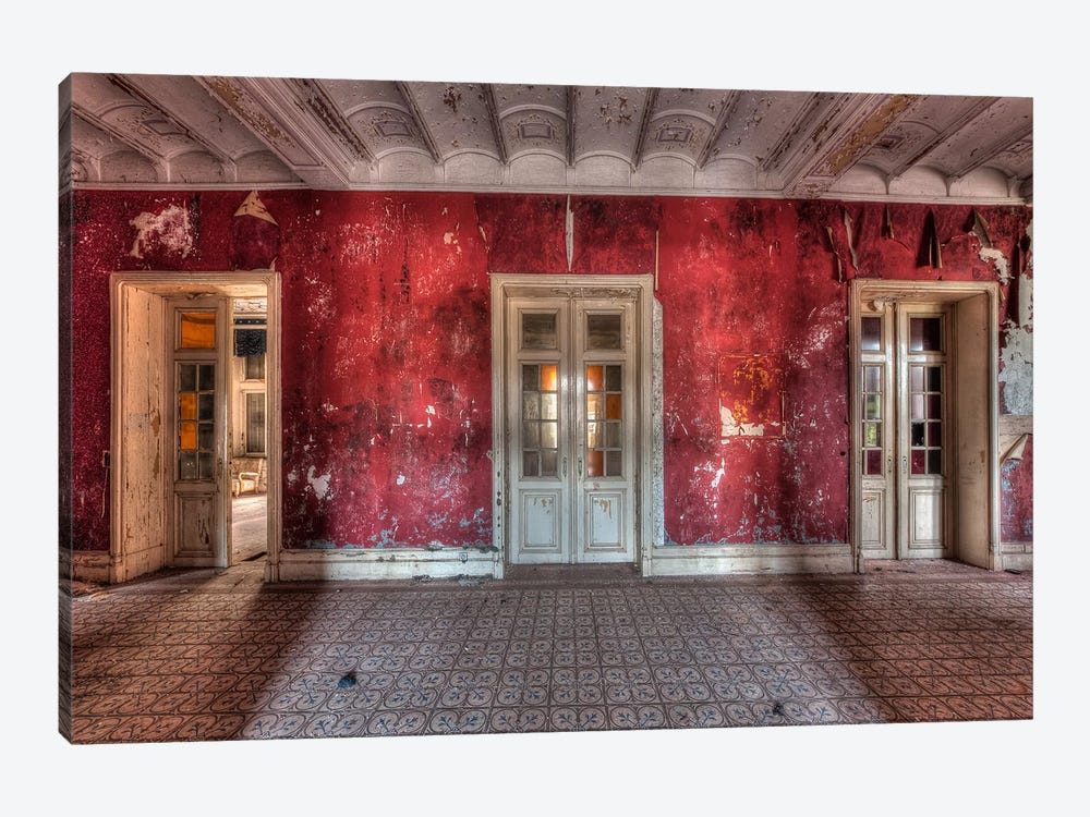 Hotel Rouge II by Ivo Sneeuw 1-piece Canvas Art