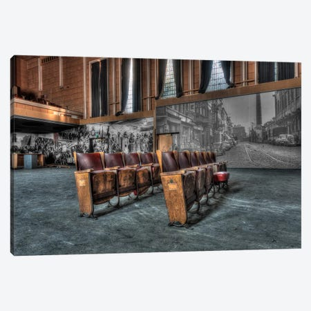 Theater Jeusette Canvas Print #IVO21} by Ivo Sneeuw Canvas Wall Art