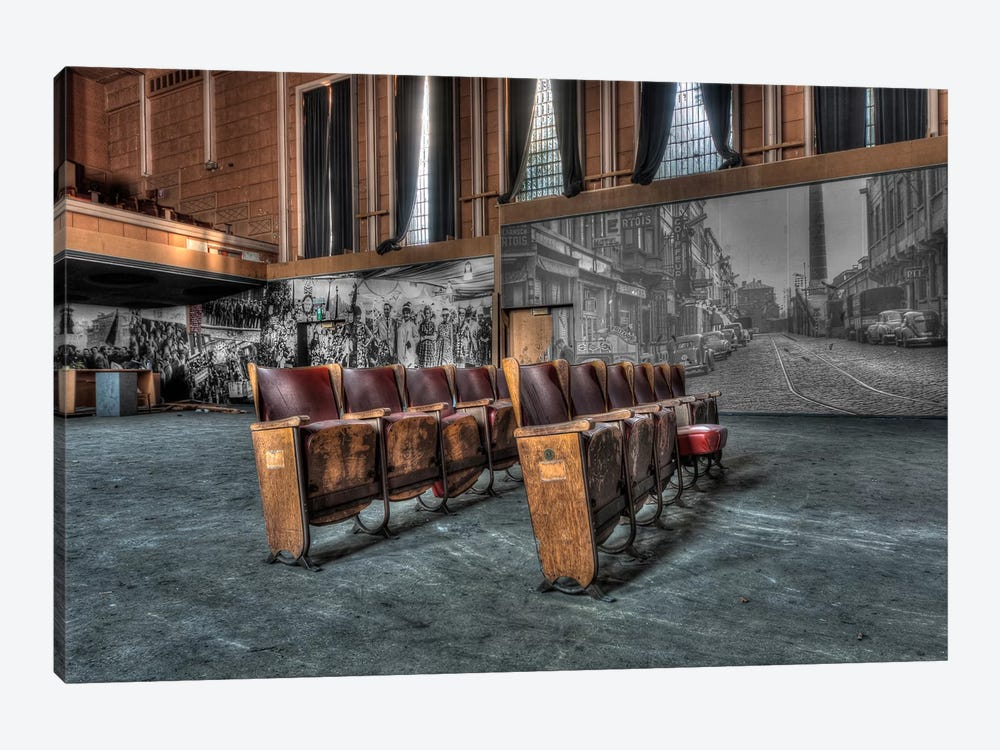 Theater Jeusette by Ivo Sneeuw 1-piece Canvas Art