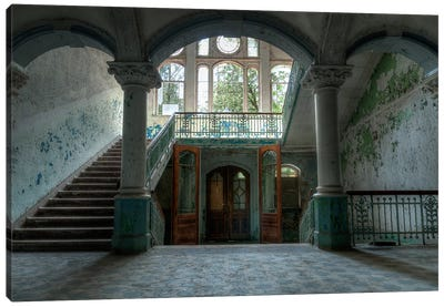 Beelitz Sanatorium Canvas Art Print