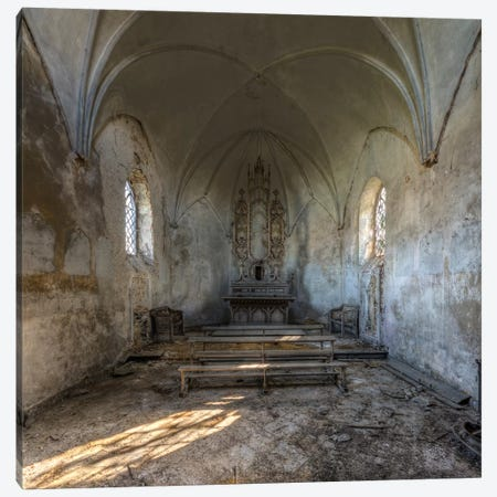 Chapel de la Meuse I Canvas Print #IVO4} by Ivo Sneeuw Canvas Art Print