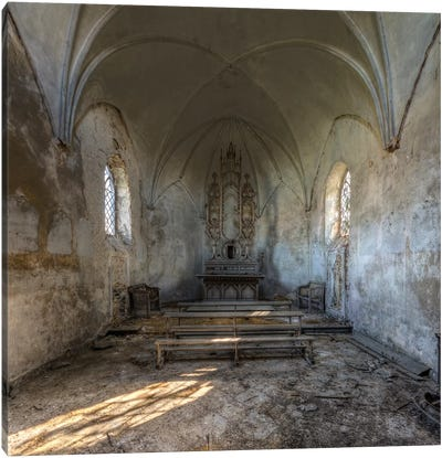 Chapel de la Meuse I Canvas Art Print