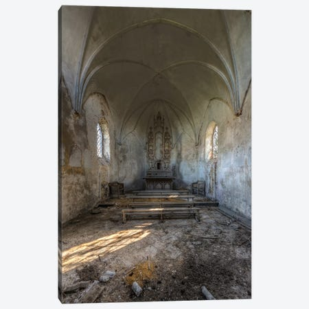 Chapel de la Meuse II Canvas Print #IVO5} by Ivo Sneeuw Canvas Art Print