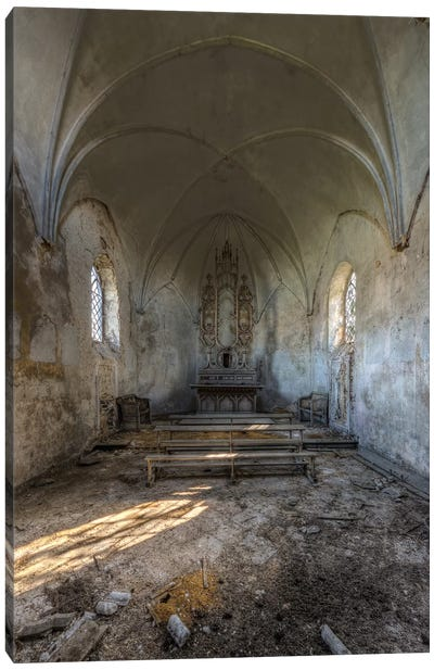 Chapel de la Meuse II Canvas Art Print
