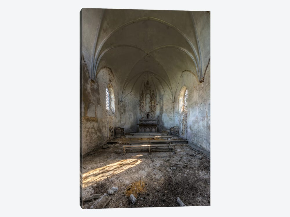 Chapel de la Meuse II by Ivo Sneeuw 1-piece Canvas Art Print