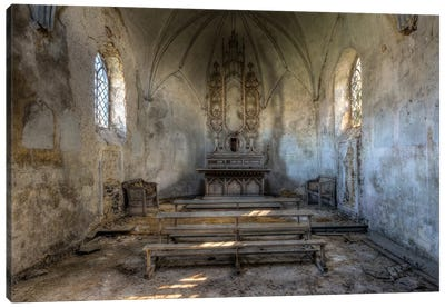 Chapel de la Meuse III Canvas Art Print