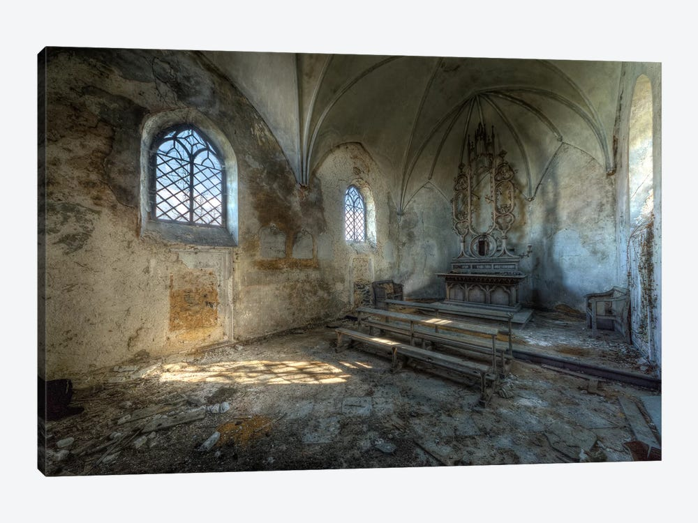 Chapel de la Meuse VI by Ivo Sneeuw 1-piece Canvas Print
