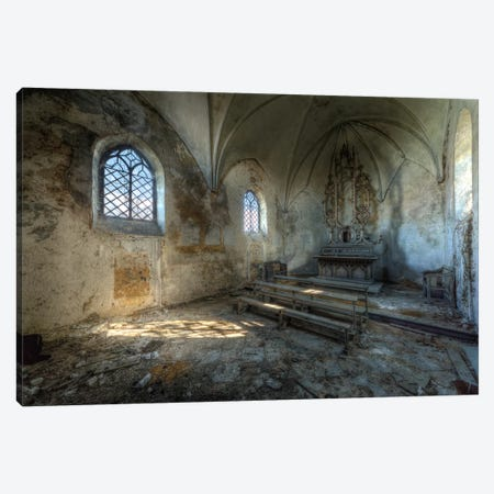 Chapel de la Meuse VI Canvas Print #IVO7} by Ivo Sneeuw Canvas Art Print