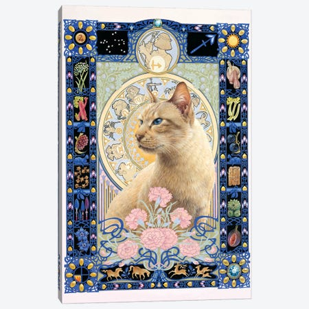 Sagittarius - Ra-Ra Canvas Print #IVR43} by Ivory Cats Canvas Print
