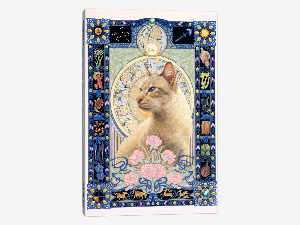 Sagittarius - Ra-Ra by Ivory Cats 1-piece Canvas Art