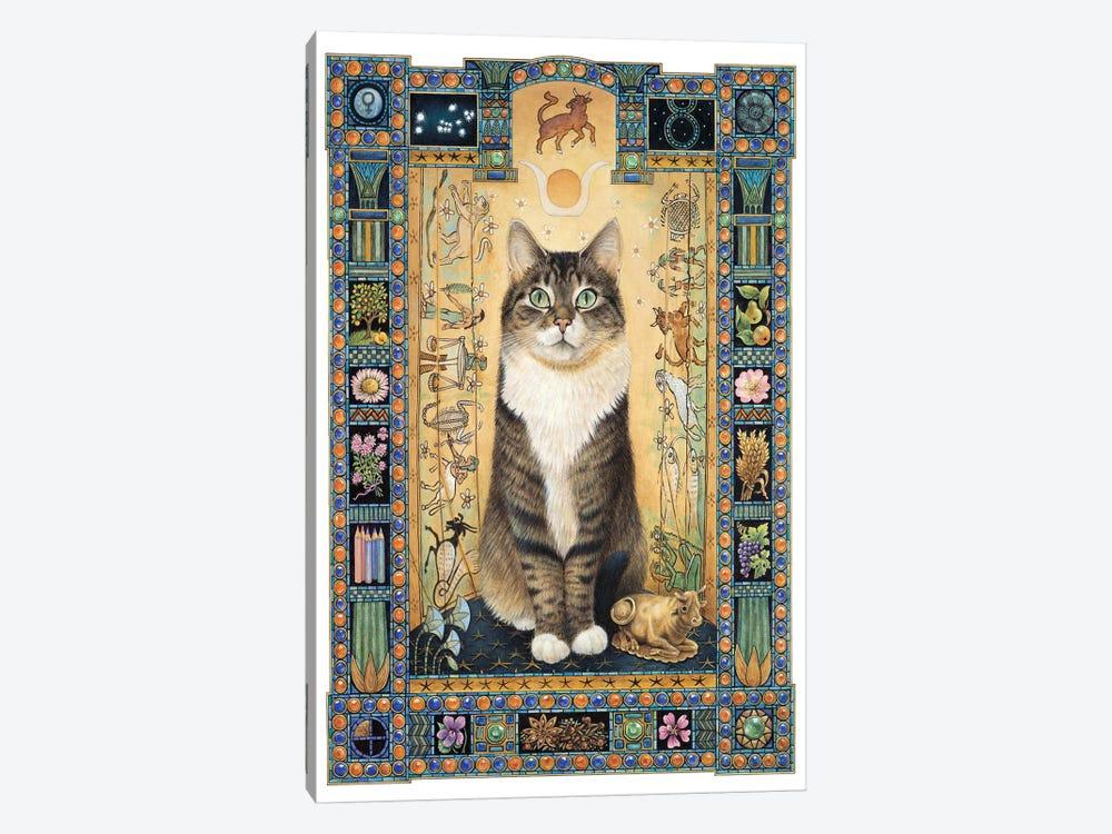 Taurus - Gemma by Ivory Cats 1-piece Canvas Art Print