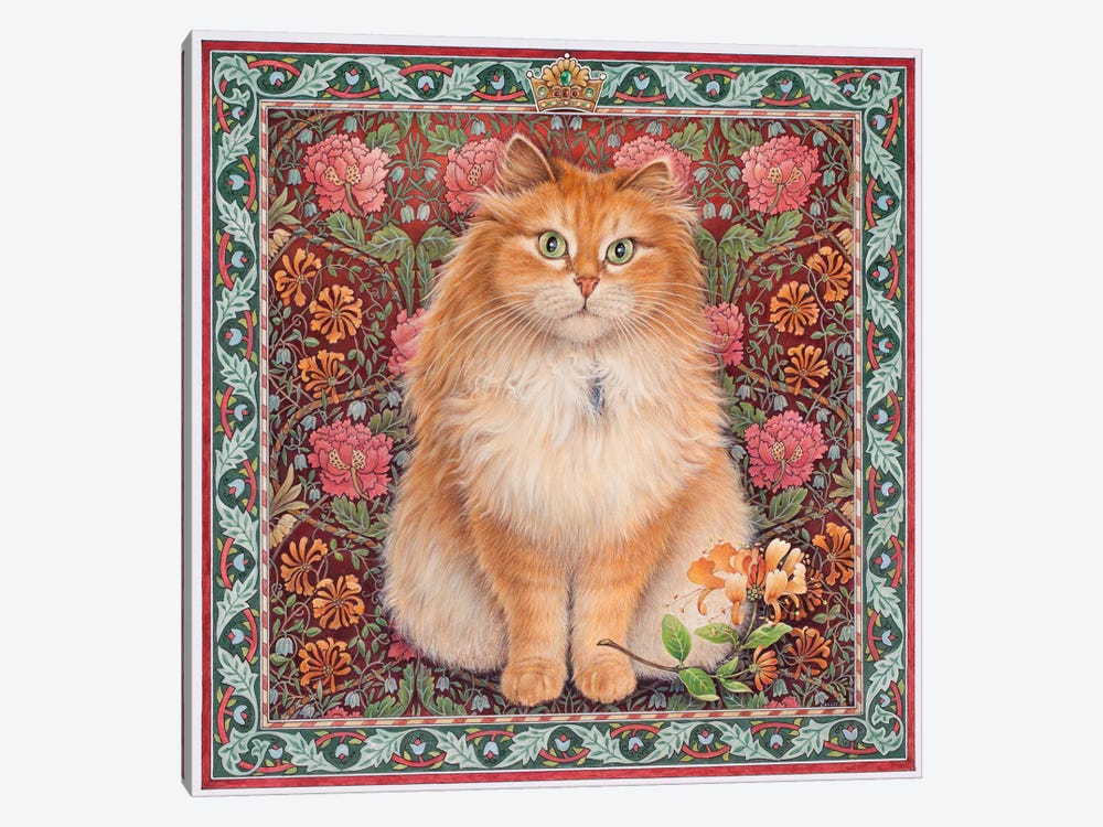 Blossomire Russian Princess by Ivory cats 1-piece Canvas Artwork