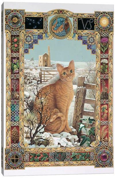 Capricorn - Muggley Canvas Art Print