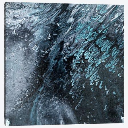 Raindrops In The Night Canvas Print #IWA10} by Ilonka Walter Canvas Wall Art