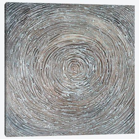 Shabby Blue Canvas Print #IWA12} by Ilonka Walter Canvas Art