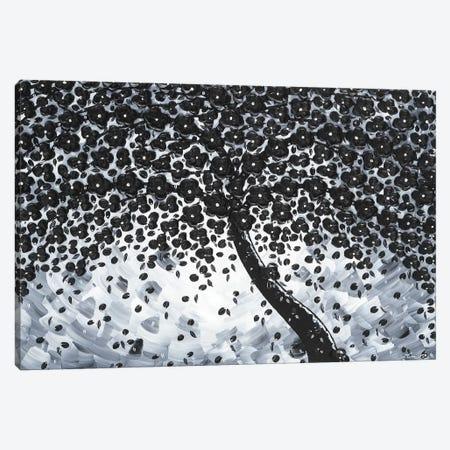 Black Elegance Canvas Print #IWA1} by Ilonka Walter Canvas Print