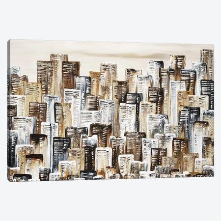City In Terra Canvas Print #IWA4} by Ilonka Walter Canvas Artwork