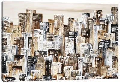 City In Terra Canvas Art Print