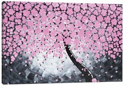 Pink Flower Canvas Art Print
