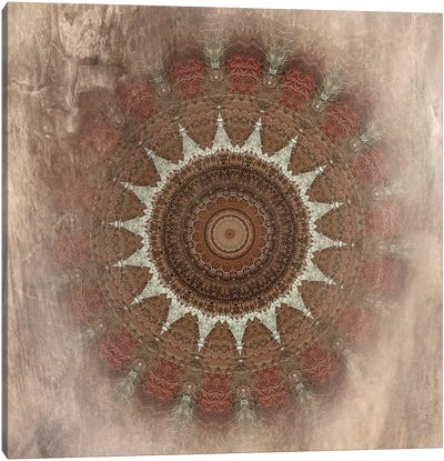 Autumn Kaleidoscope II Canvas Art Print