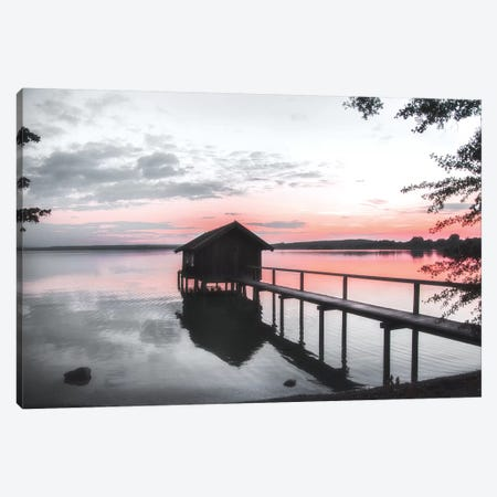 October Sunset Canvas Print #IWE46} by Irene Weisz Canvas Artwork