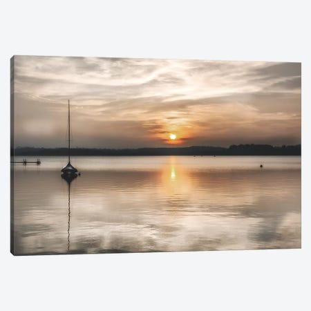 Soft Sunset Canvas Print #IWE49} by Irene Weisz Art Print