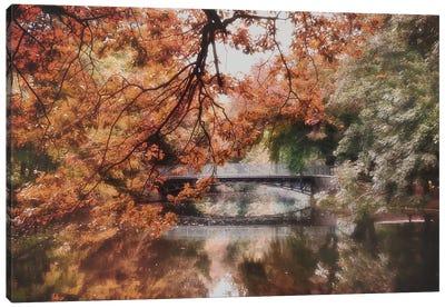 Autumn In Vienna Canvas Art Print