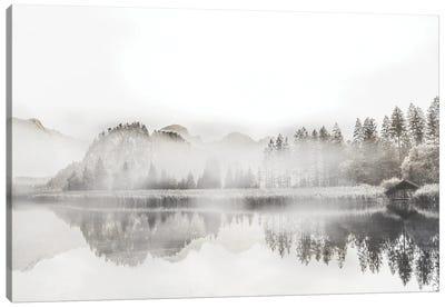 Taupe Morning Mood Canvas Art Print
