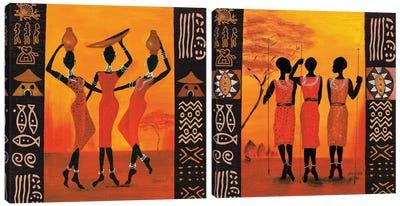 Hunters and Gatherers Canvas Art Print