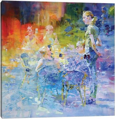 Cafe Mosaic III Canvas Art Print