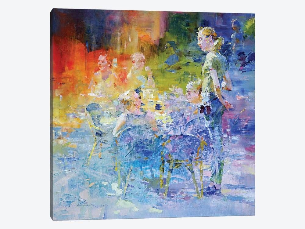 Cafe Mosaic III by Igor Zhuk 1-piece Art Print
