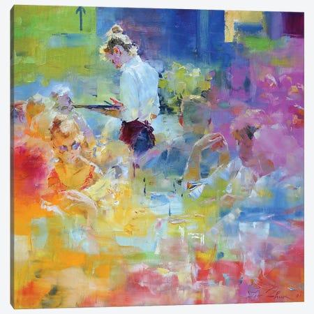 Cafe Mosaic IV Canvas Print #IZH101} by Igor Zhuk Canvas Artwork