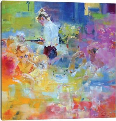 Cafe Mosaic IV Canvas Art Print