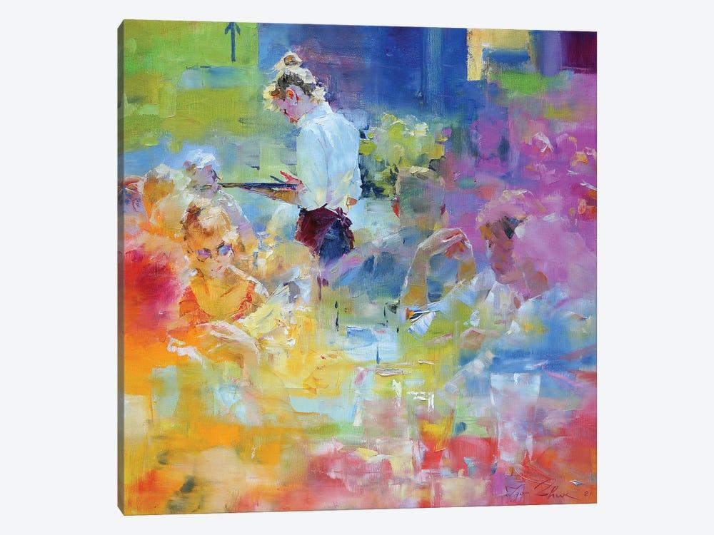 Cafe Mosaic IV by Igor Zhuk 1-piece Canvas Art