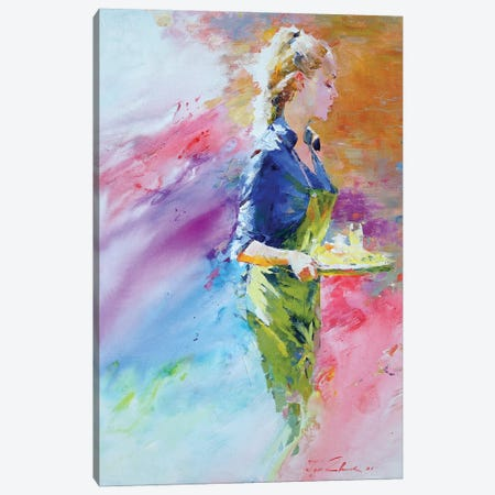 Cafe Mosaic V Canvas Print #IZH102} by Igor Zhuk Canvas Wall Art