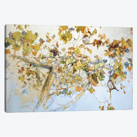Grapes Tree Canvas Print #IZH15} by Igor Zhuk Art Print