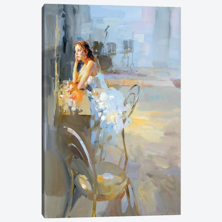 In Front Of The Mirrow Canvas Print #IZH18} by Igor Zhuk Canvas Wall Art
