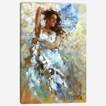 In The Dance Canvas Print #IZH22} by Igor Zhuk Canvas Art Print