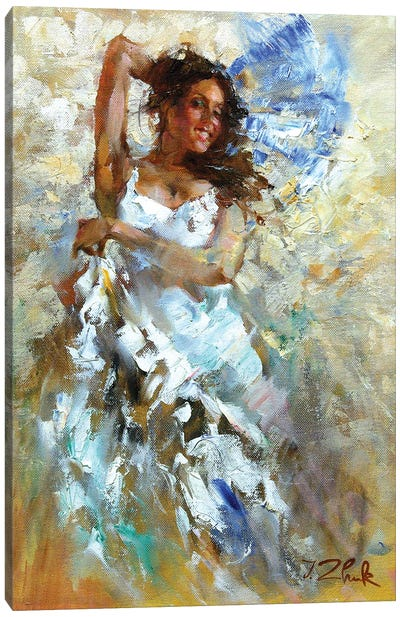 In The Dance Canvas Art Print