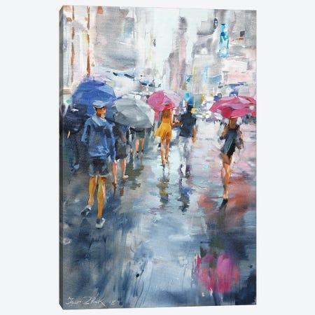It's Raining Canvas Print #IZH25} by Igor Zhuk Canvas Wall Art