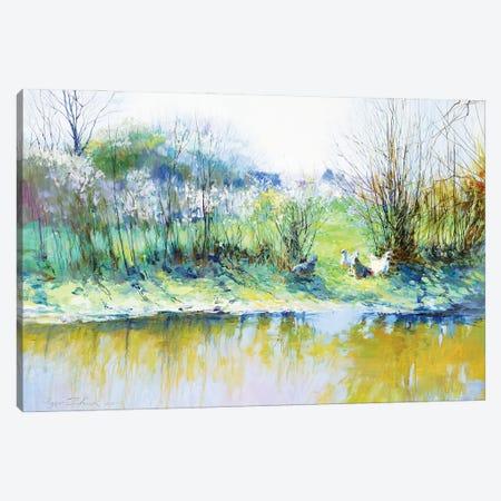 Near A River Canvas Print #IZH29} by Igor Zhuk Art Print