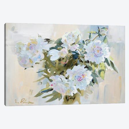 Peonies Canvas Print #IZH32} by Igor Zhuk Canvas Artwork