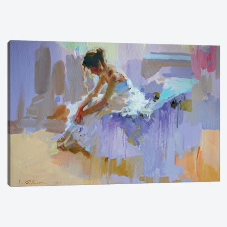Purple Pause Canvas Print #IZH34} by Igor Zhuk Canvas Print