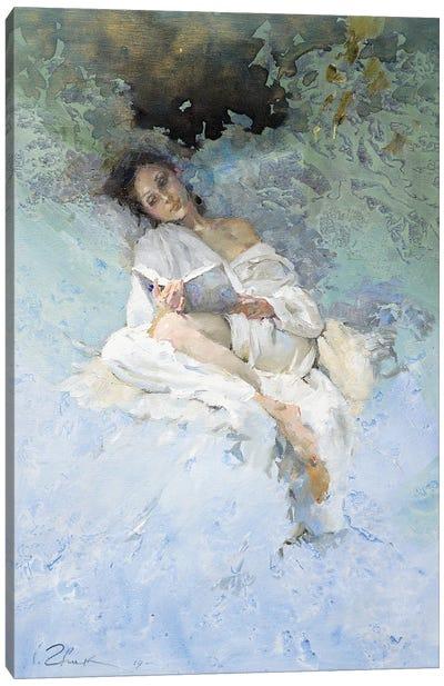 Reading Canvas Art Print