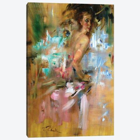 She Whirl Canvas Print #IZH38} by Igor Zhuk Canvas Artwork